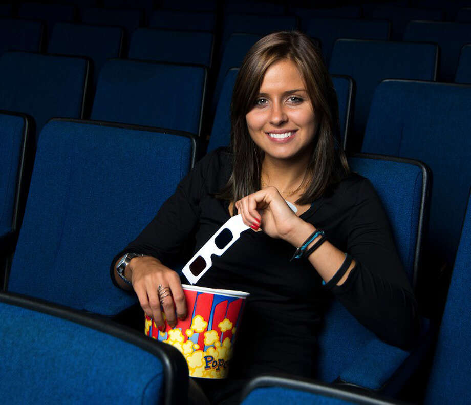 Olenka Polak, who grew up in Greenwich, along with her brother Adam, hope to make the cinema equal opportunity enjoyment for all, regardless of one's native language, through their new app, myLINGO. Photo: Contributed Photo / Stamford Advocate Contributed