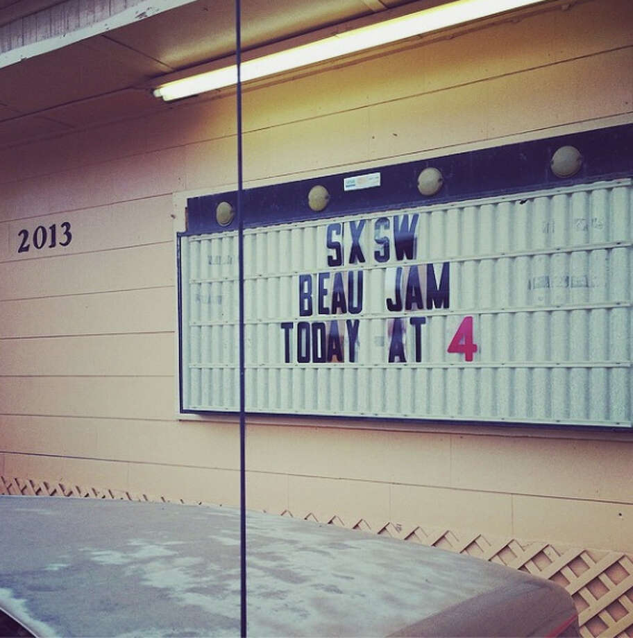 Beau Jam part 2 at the Texas Rose Saloon (what a way to spend a Sunday afternoon). Photo from @thecatfive on Instagram