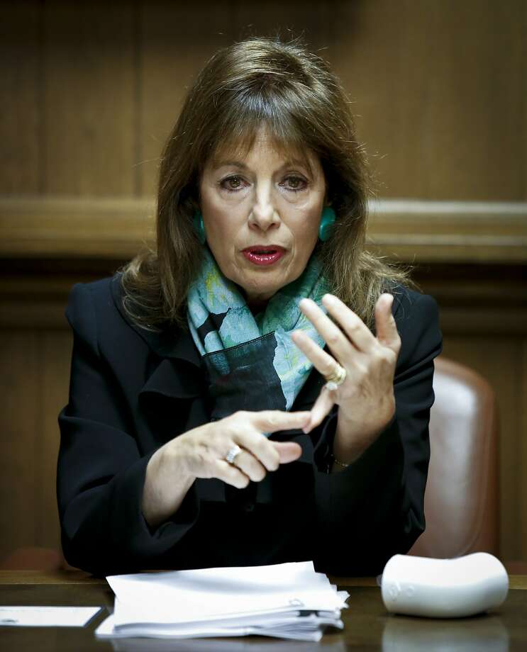 Congresswoman Jackie Speier, U.S. Representative for California's 14th congressional district, talks about various issues with the San Francisco Chronicle editorial board on Monday, March 17, 2014 in San Francisco, Calif. Photo: Russell Yip, The Chronicle