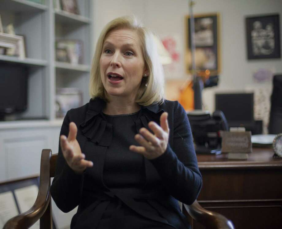 A reader disagrees with Sen. Kirsten Gillibrand,  who  sought to remove commanders from the criminal justice process in military sexual assault cases. Photo: J. Scott Applewhite / Associated Press / AP