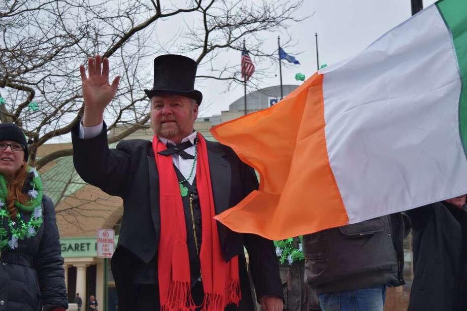 Bridgeport's Saint Patrick's Day Parade went off without a hitch today 3/17/2014 at noon. It was chilly but everyone was smiling as they kept up a brisk pace over downtown streets. Were you SEEN wearing green? Photo: Todd Tracy / Hearst Connecticut Media Group