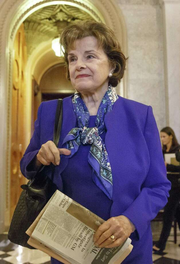 Sen. Dianne Feinstein is angry about the CIA's supposed destruction of evidence. Photo: J. Scott Applewhite / Associated Press / AP
