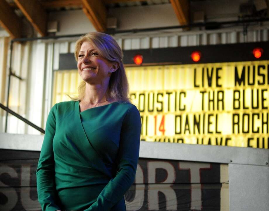 Democrat Wendy Davis has only disclosed some of her clients, raising questions about potential conflicts of interest. Photo: Victor Texcucano, Associated Press / Tyler Morning Telegraph