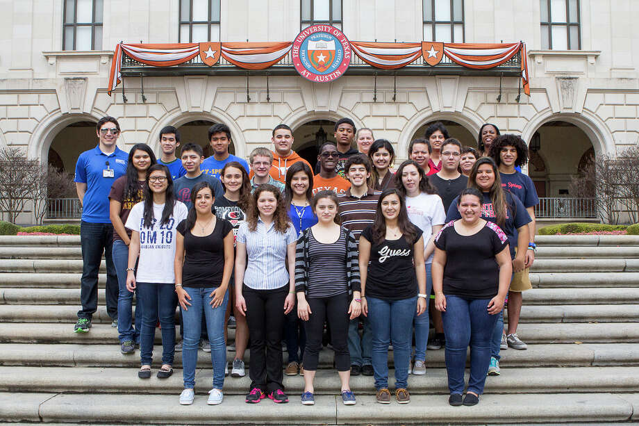 Cy-Springs High School students visit the University of Texas at Austin on March 1. Photo: Provided By Cy-Springs High School / The University of Texas at Austin