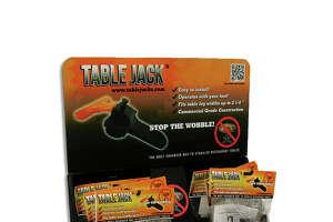 The final version of Steve Christian's Table Jack.