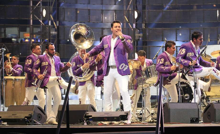 Banda Sinaloense MS, March 16Banda Sinaloense MS was first on stage during Go Tejano Day at the Houston Livestock Show and Rodeo. The group played a spirited, 35-minute set anchored by a barrage of blaring horns and loosely choreographed routines. Photo: Johnny Hanson, Houston Chronicle