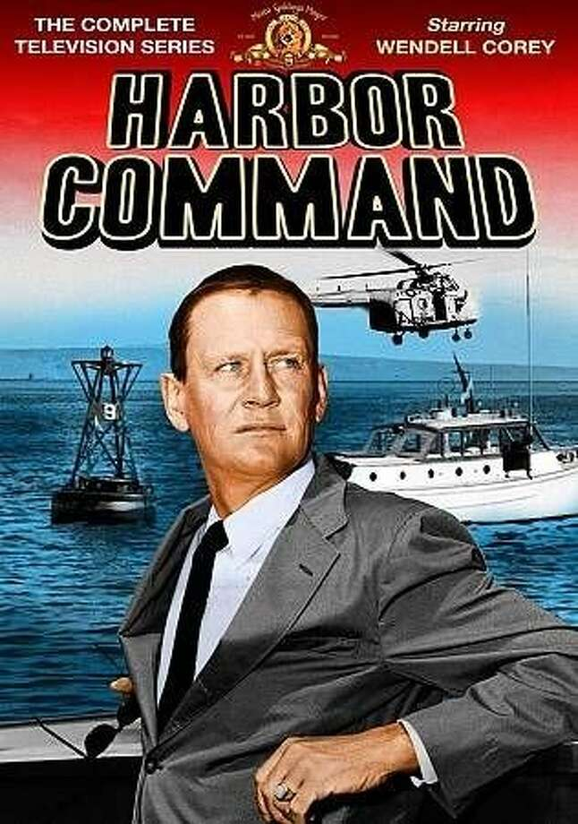 "DVD cover: ""Harbor Command."" Casey Walters and Wendell Corey in ""Harbor Command,"" a 1950s TV series set in San Francisco. Photo: Shout Factory"