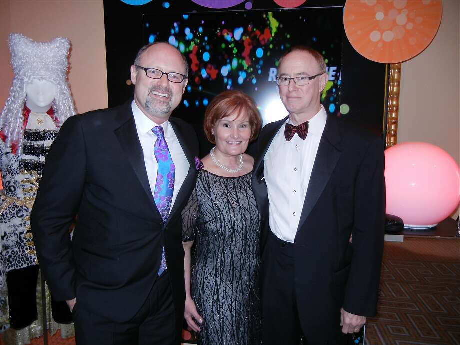 Jonathan Moscone (left), Maureen Knight and her husband, Cal Knight. Photo: Catherine Bigelow, Special To The Chronicle
