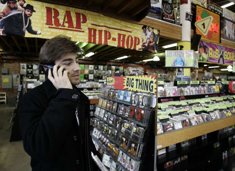 Only a block away from Amoeba Music in Berkeley, Rasputin Music is another giant record shop institution. Now they sell ice cream, too, so you can now shop while enjoying an ice cream cone! (2401 Telegraph Avenue, Berkeley. http://www.rasputinmusic.com/) Photo: Paul Chinn, The Chronicle