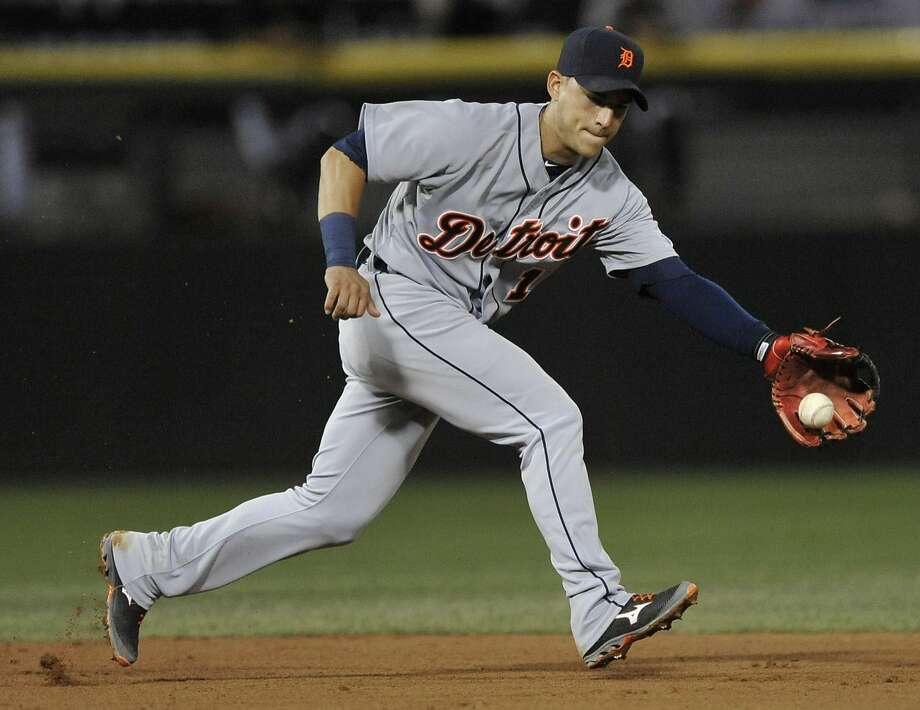 Detroit shortstop Jose Iglesias is expected to start the season on the disabled list and might be out for an extended time. Photo: Paul Beaty, Associated Press