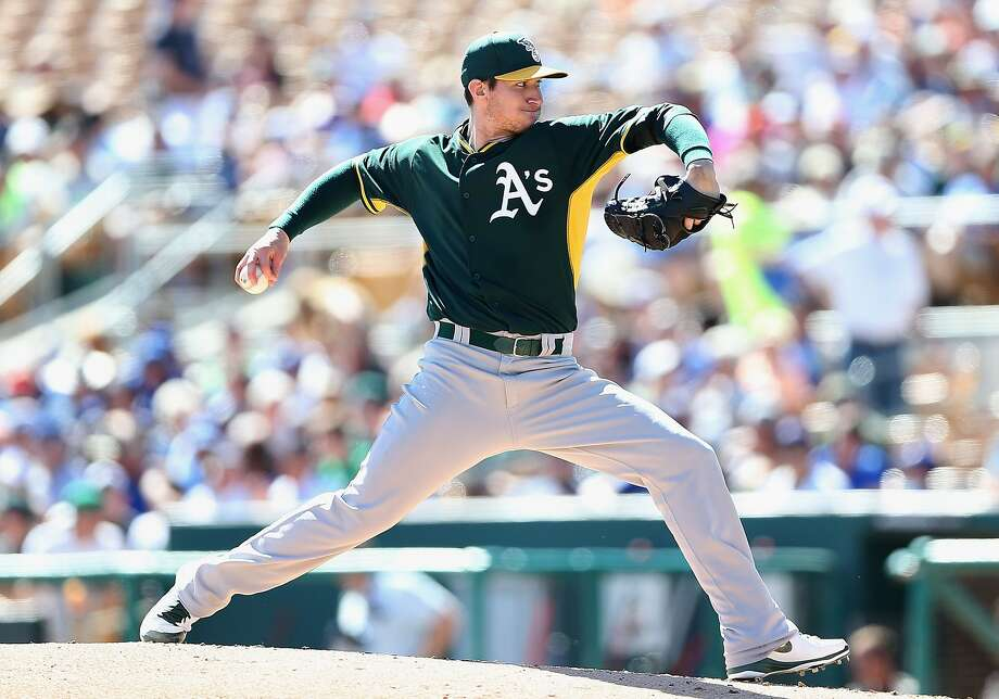 Jarrod Parker, the A's projected Opening Night starter, will have an elbow operation. He could miss a year or longer. Photo: Christian Petersen, Getty Images