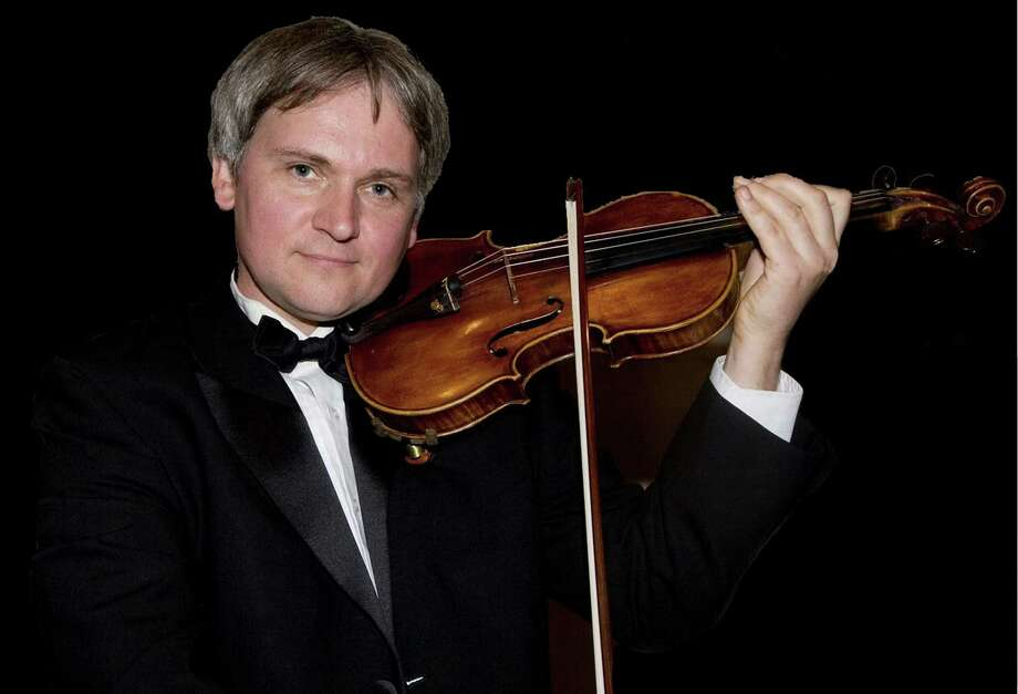 "The Chamber Players of the Greenwich Symphony Orchestra will perform ""Cloud Nine: Winds and Strings Together""  on  April 13 and 14. Krystof  Witek, above, concertmaster of the Greenwich Symphony, says ""What is interesting to me in this particular program is the juxtaposition and sonic synthesis of strings and winds."" Photo: Contributed Photo / Greenwich Time Contributed"