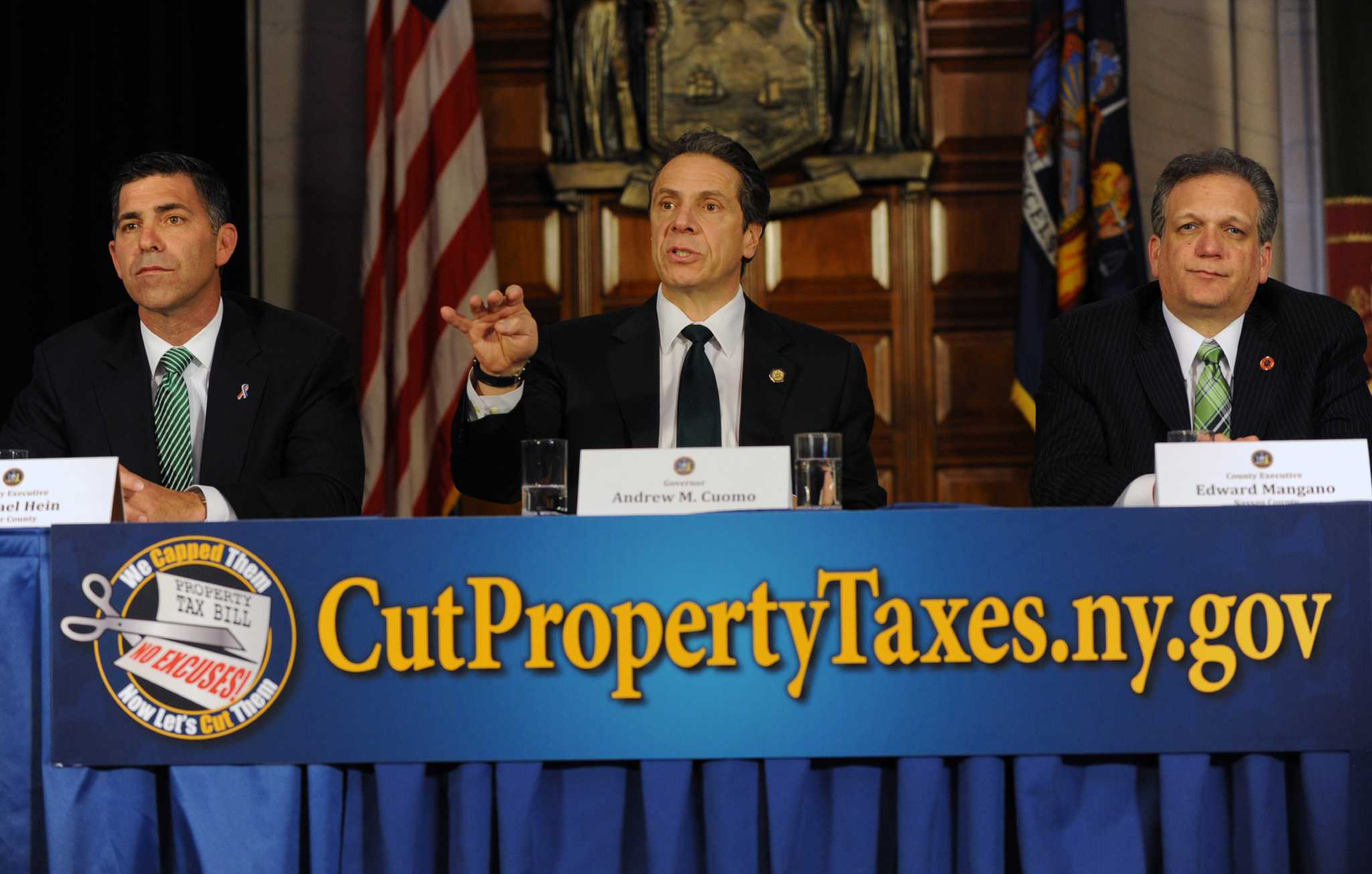 Cuomo Enlists Local Help For A Tax Freeze Plan Times Union