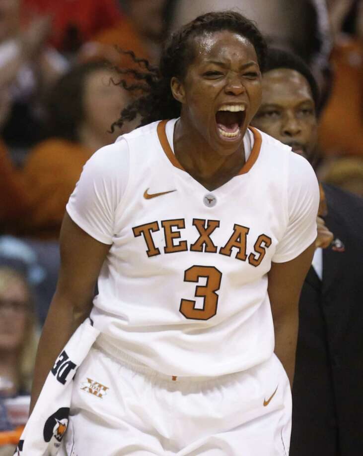 Nneka Enemkpali and No. 5 seed Texas will face No. 12 Pennsylvania on Sunday in College Park, Md. Photo: Sue Ogrocki / Associated Press / AP