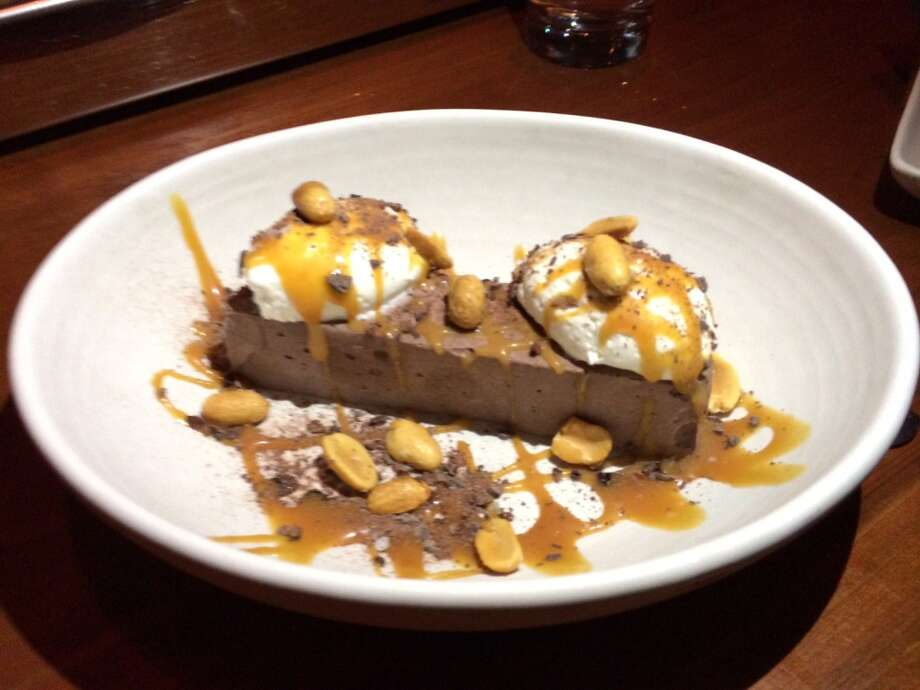 Maven: Fudgesicle with salted caramel, peanuts and balsamic