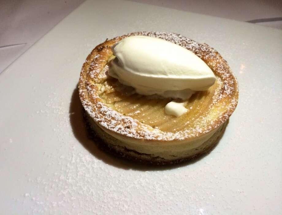 Angele in Napa: Pear  tart ($9)
