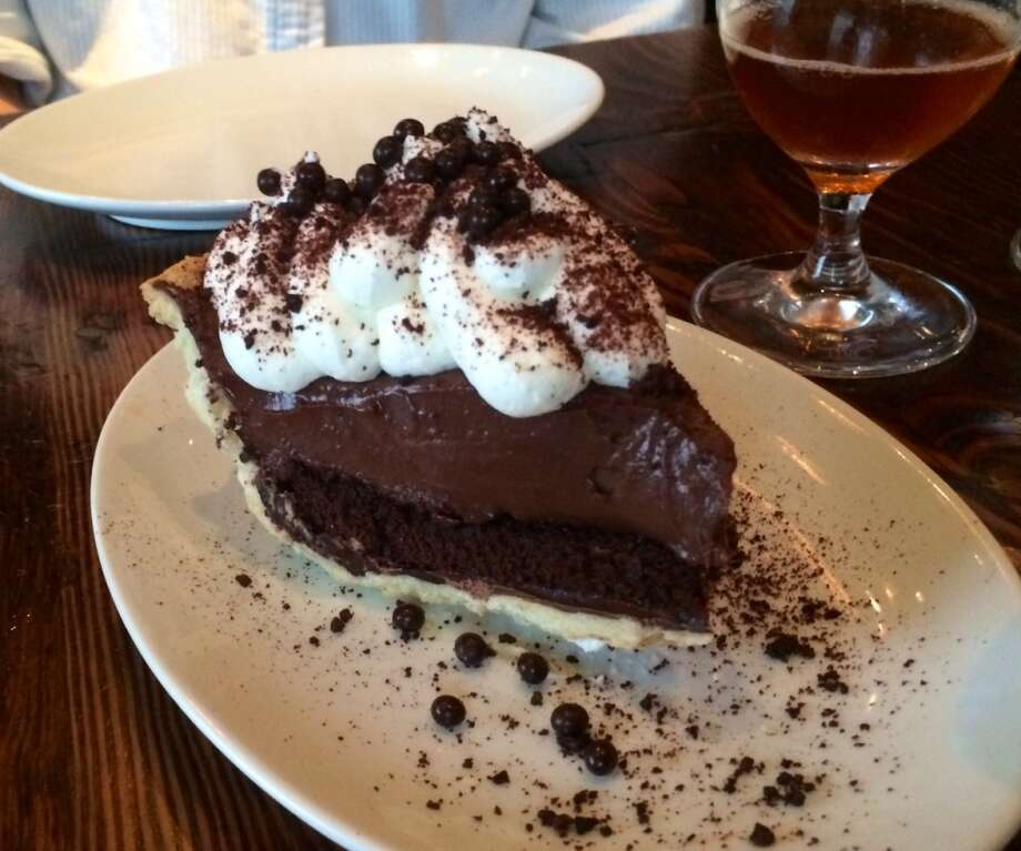 Wayfare Tavern: Chocolate cream pie with devil's food cake ($10)