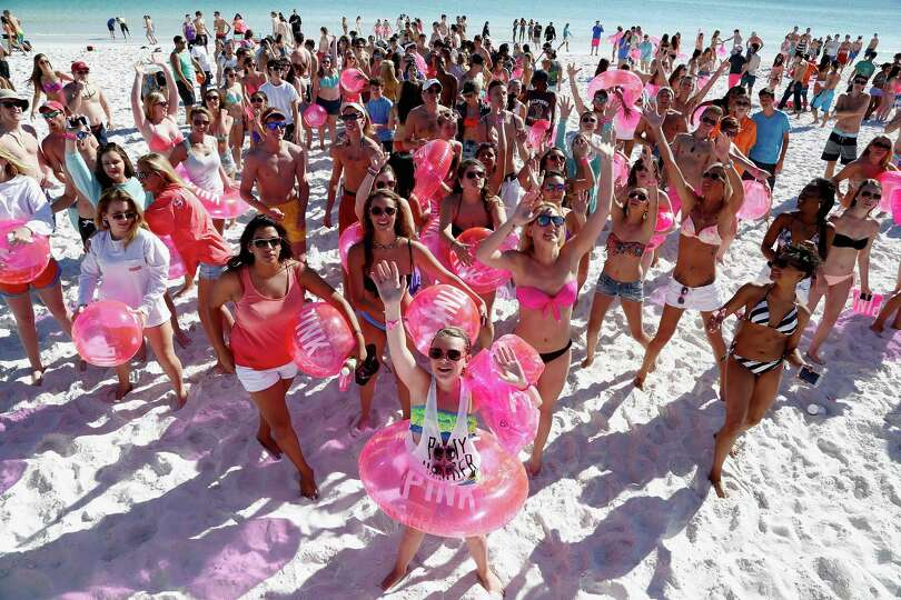 Victoria's Secret PINK Nation Spring Break Beach Party on ...