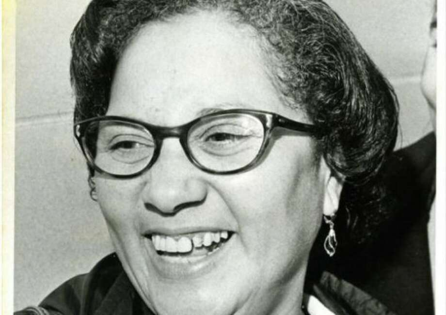 In 1988, Maria C. Sanchez became the first Hispanic woman to be elected to the Connecticut legislature. Photo: Hartford History Center,  Hartford Public Library And Connecticut History Online