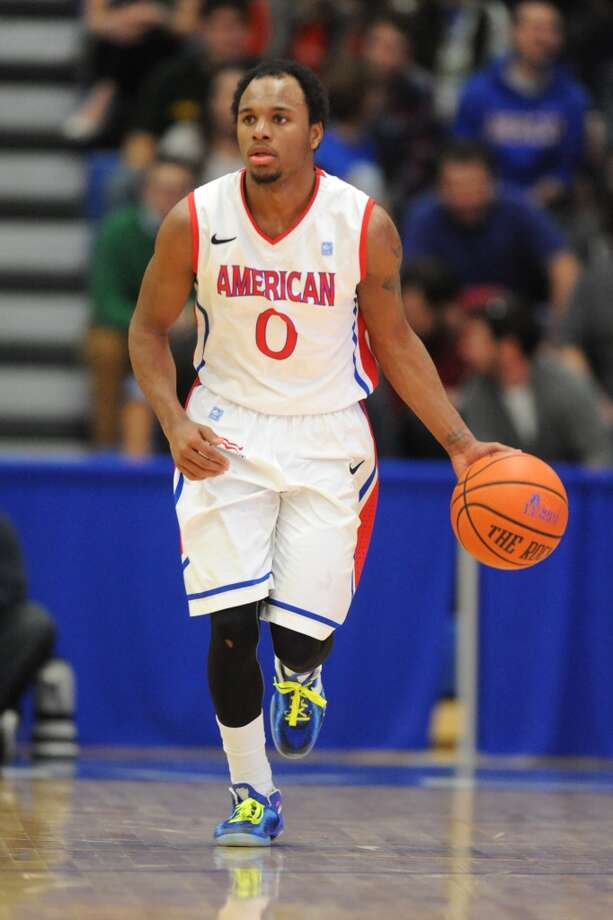 Darius Gardner, American 5-9 guard, Junior Yates Photo: Mitchell Layton, Getty Images