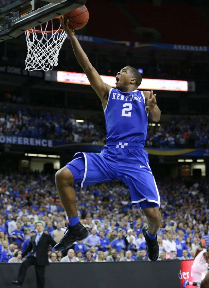 Aaron Harrison, Kentucky 6-6 guard, Freshman Fort Bend Travis Photo: Mark Cornelison, McClatchy-Tribune News Service