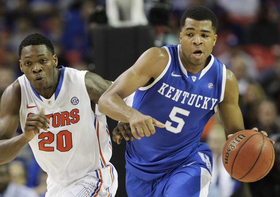 Andrew Harrison, Kentucky 6-6 guard, Freshman Fort Bend Travis Photo: Steve Helber, Associated Press