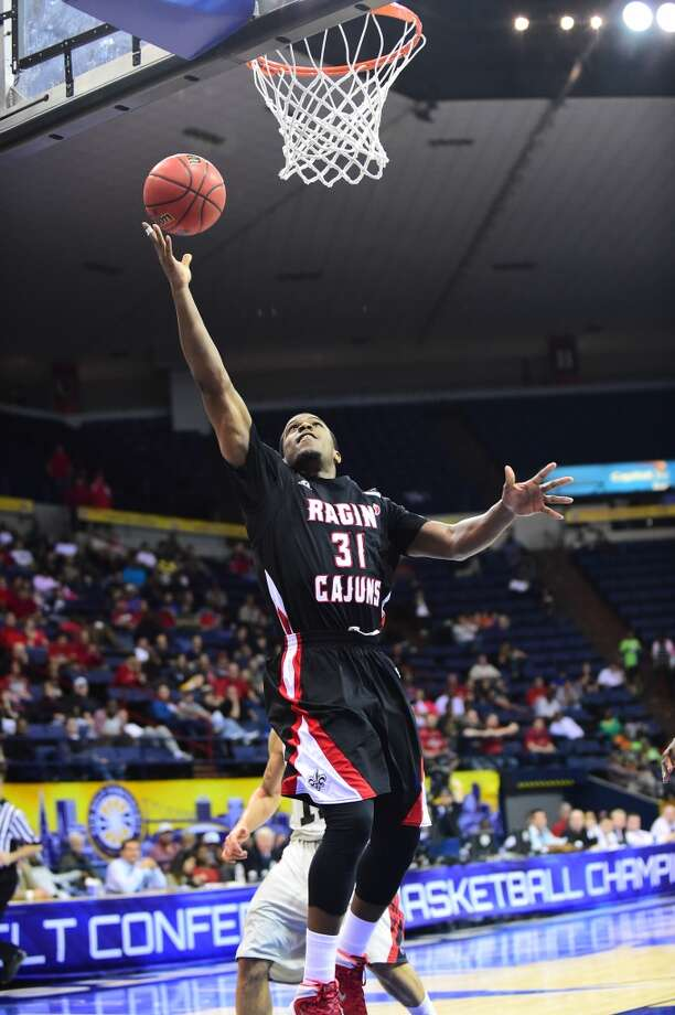 Kevin Brown, Louisiana-Lafayette 6-1 guard, Junior Elsik Photo: Michael Chang, Getty Images