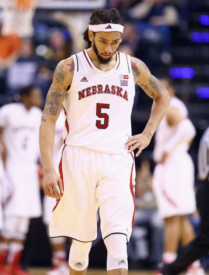 Terran Petteway, Nebraska 6-6 forward, Sophomore Galveston Ball Photo: Andy Lyons, Getty Images