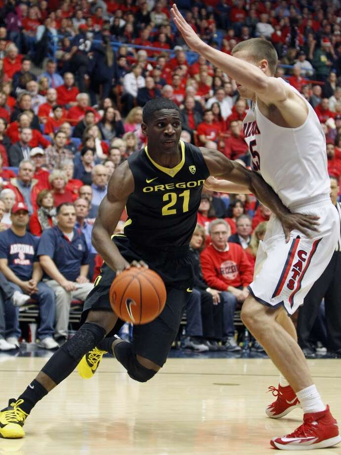 Damyean Dotson, Oregon 6-5 guard, Sophomore Yates Photo: Ralph Freso, Getty Images