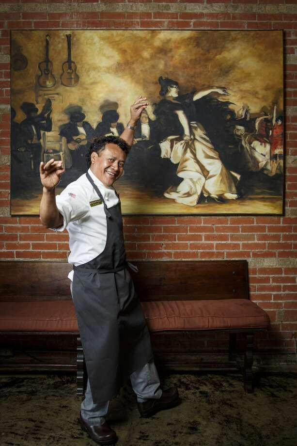 Chef Hugo Ortega flamenco dances at his restaurant Hugo's Restaurant, ( Michael Paulsen / Houston Chronicle ) Photo: Michael Paulsen, Houston Chronicle