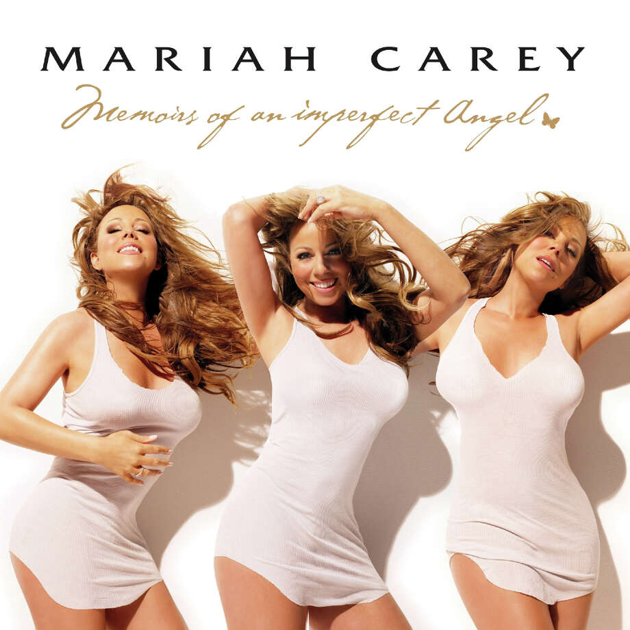 Mariah Carey, 'Memoirs of an Imperfect Angel': The photo shoot for this album went so well they had problem choosing just one image. Photo: Island