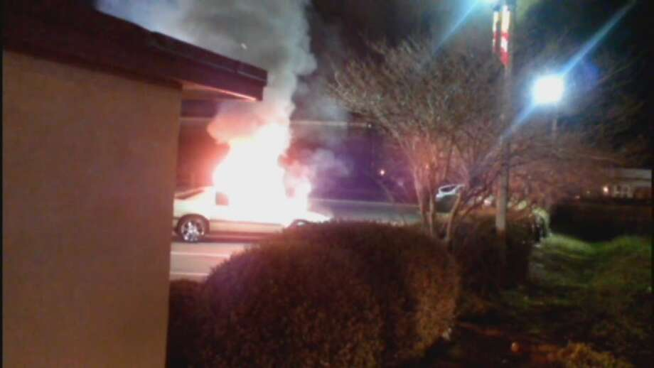 Orlando's WFTV-TV reports a womanset fire to her boyfriend's car outside a Jacksonville McDonald's restaurant. The reason? He refused to buy her a McFlurry.