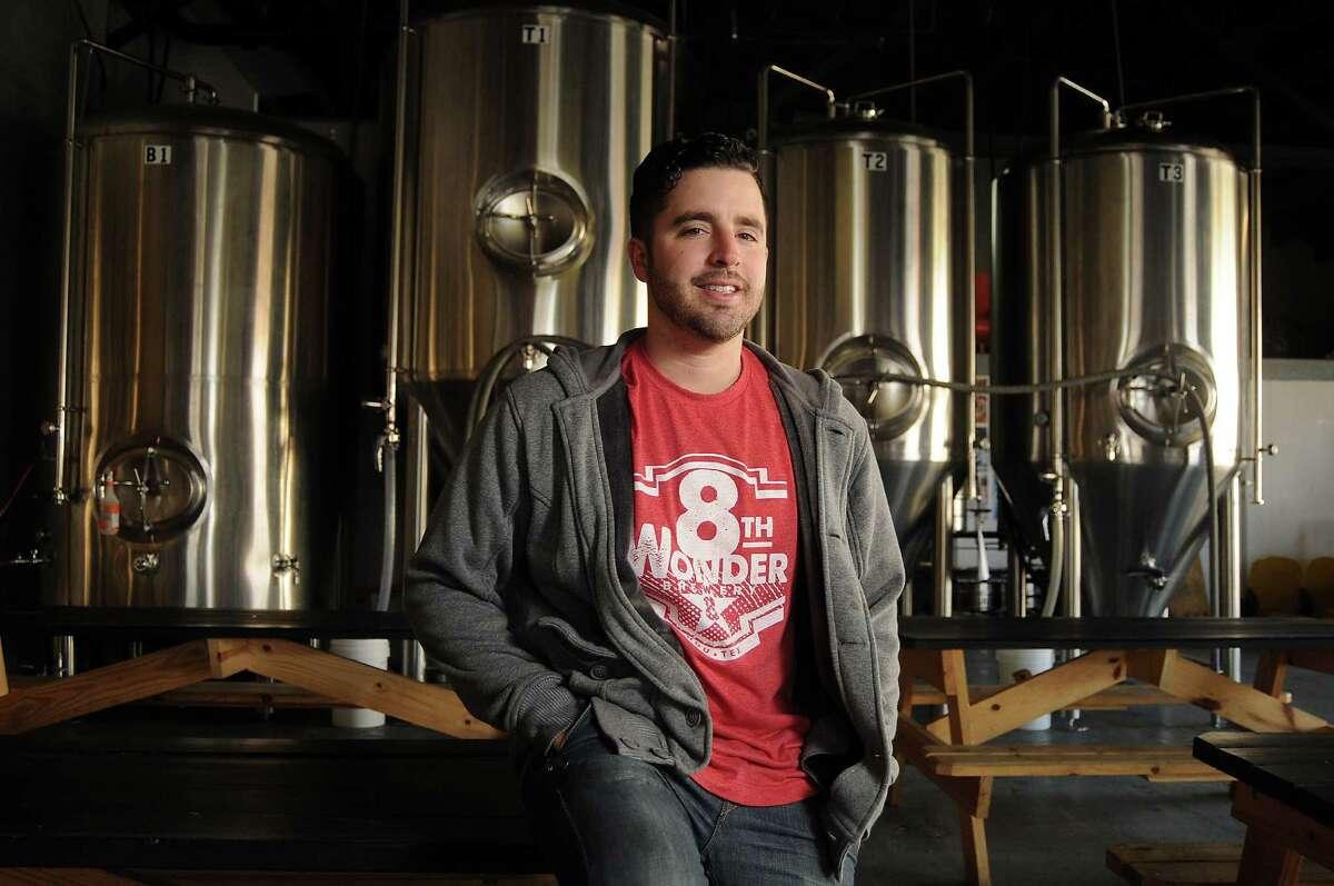 Co-founder Ryan Soroka at the 8th Wonder Brewery on Dallas St.