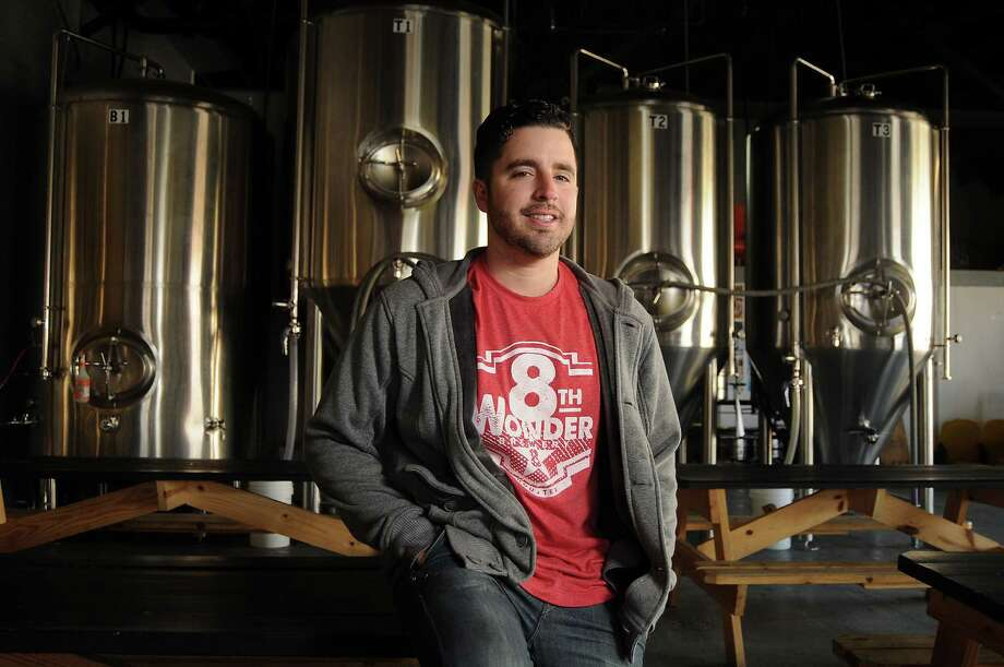 Co-founder Ryan Soroka at the 8th Wonder Brewery on Dallas St. Photo: Dave Rossman, Freelance / Freelance