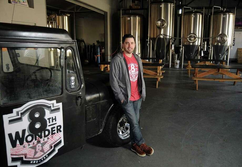 Ryan Soroka is a co-founder of the 8th Wonder Brewery on Dallas Street. Photo: Dave Rossman, Freelance / Freelance
