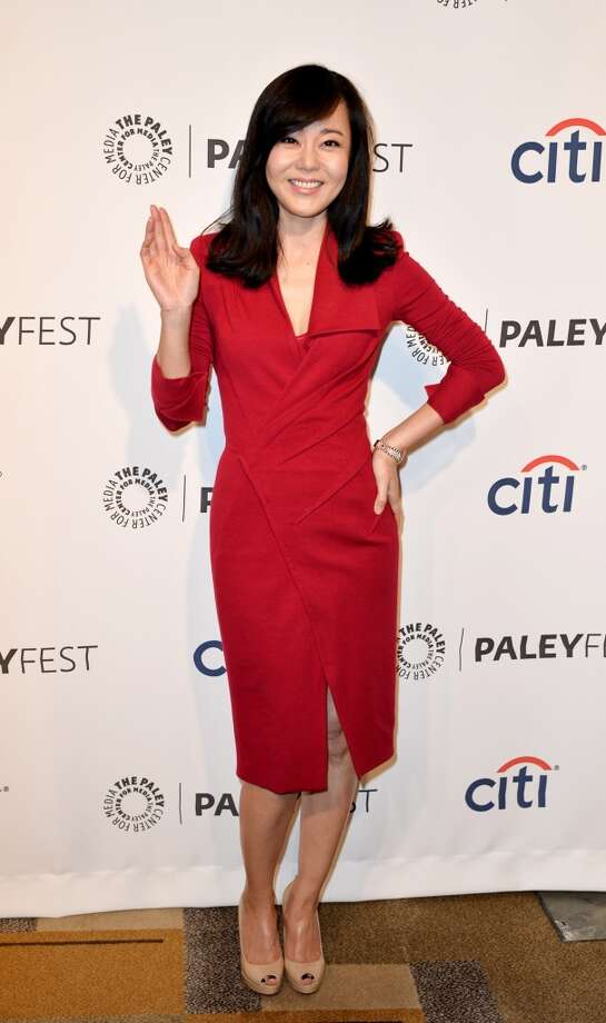 "Actress Yunjin Kim arrives at The Paley Center Media's PaleyFest 2014 Honoring ""Lost"" 10th Anniversary Reunion at the Dolby Theatre on March 16, 2014 in Los Angeles, California. Photo: Kevin Winter, Getty Images"