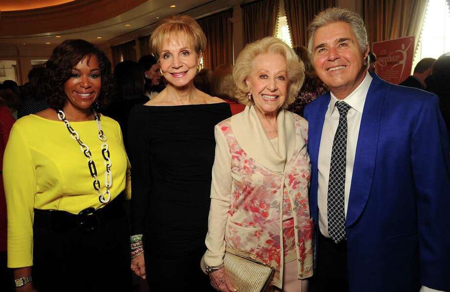 Deborah Duncan, from left, Leisa Holland-Nelson, Annette Pearson and Steve Tyrell Photo: Dave Rossman, Freelance / Freelance