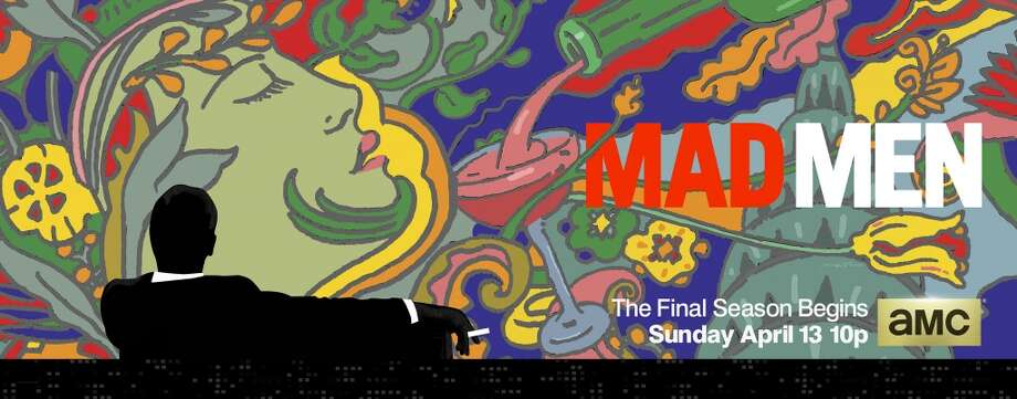 Milton Glaser Mad Men art Photo: Milton Glaser 3/AMC