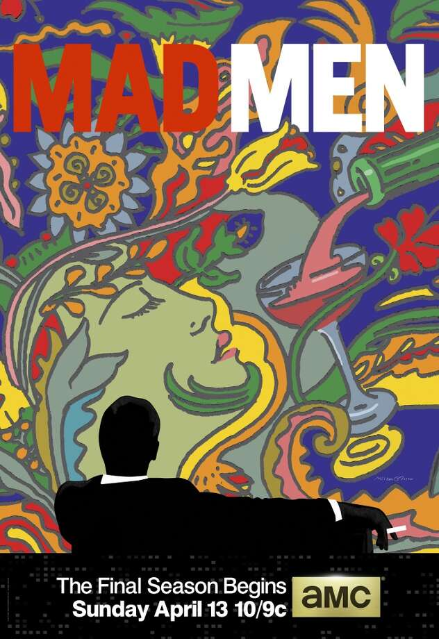 Milton Glaser Mad Men art Photo: Milton Glaser/AMC