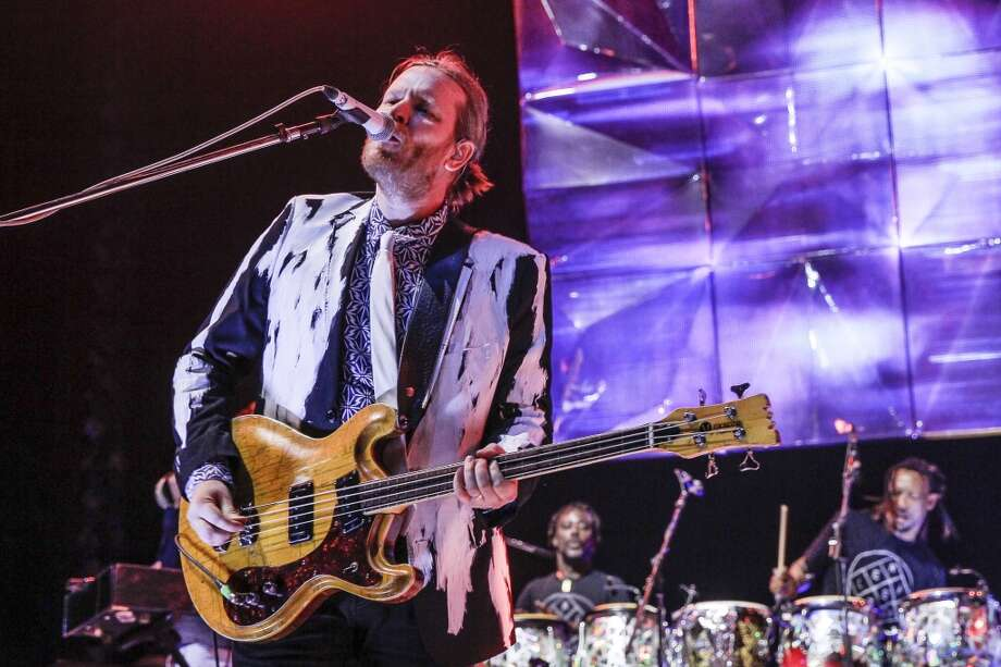 OTTAWA, ON - MARCH 14:  Tim Kingsbury performs live with Arcade Fire at the Canadian Tire Centre on March 14, 2014 in Ottawa, Canada.  (Photo by Mark Horton/WireImage) Photo: WireImage