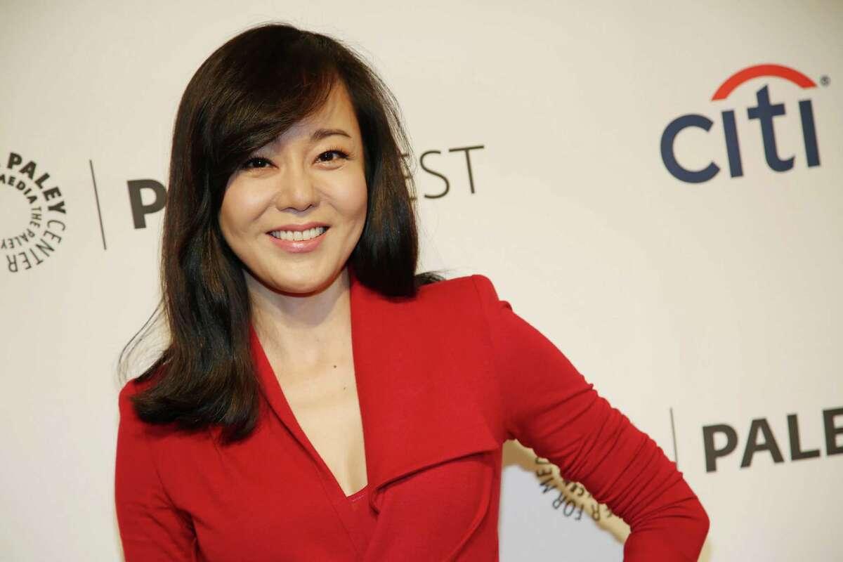 Yunjin Kim arrives at PALEYFEST 2014 -