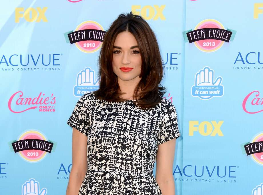 Crystal Reed says she wanted to move on. Photo: Jordan Strauss, Associated Press