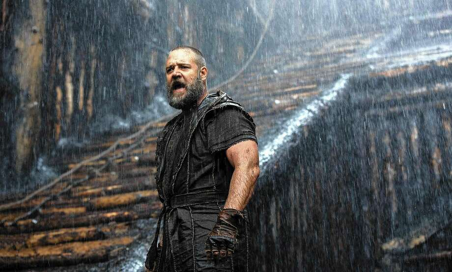 "Soaking up the drama: Russell Crowe in Darren Aronofsky's ""Noah."" Photo: Paramount Pictures 2014"