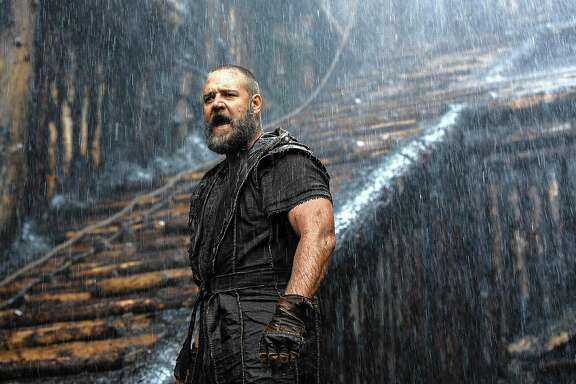 "Russell Crowe has the title role in the biblical epic ""Noah."""