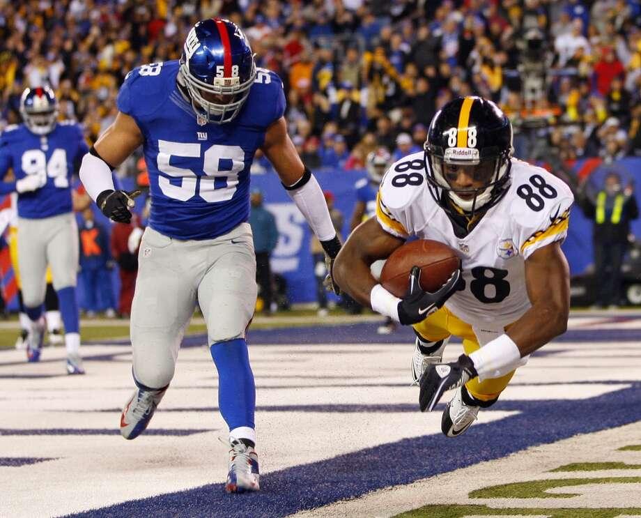 Emmanuel Sanders   Position: WR  Status: Signed with Denver Broncos Photo: Rich Schultz, Getty Images