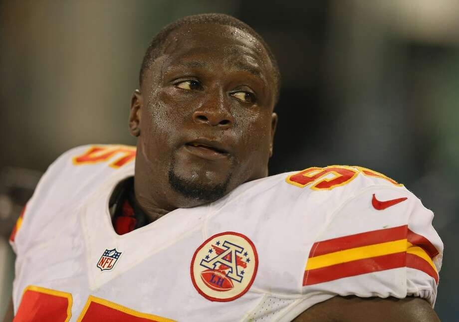 Jerrell Powe  Position: DT  Status: Signed with Houston Texans Photo: Jonathan Daniel, Getty Images