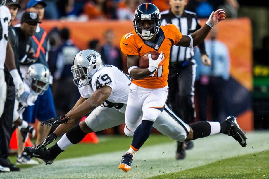 Trindon Holliday   Position: KR/WR  Status: Signed by New York Giants Photo: KENT NISHIMURA, McClatchy-Tribune News Service