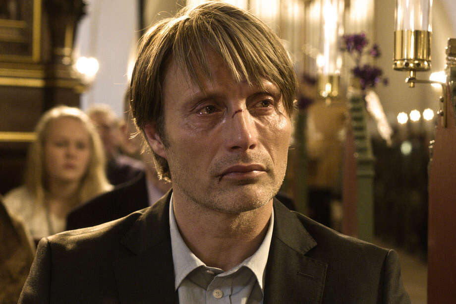 "Mads Mikkelson of the hit TV series ""Hannibal"" stars in the Danish drama ""The Hunt"" that is being screened at the Stratford Library's annual ""Great Movies You Missed!"" series running from Monday, March 31 to Friday, April 4. Photo: Contributed Photo / Connecticut Post Contributed"