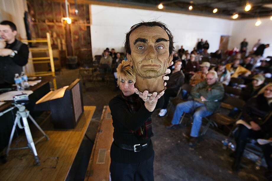 No. 14: Bidding on odd stuff at rural and small-town auctions. You never know what you'll find. Estate sales just aren't the same. (Shown: American Civil War Wax Museum auction in Gettysburg.) Photo: Sean Simmers, Associated Press