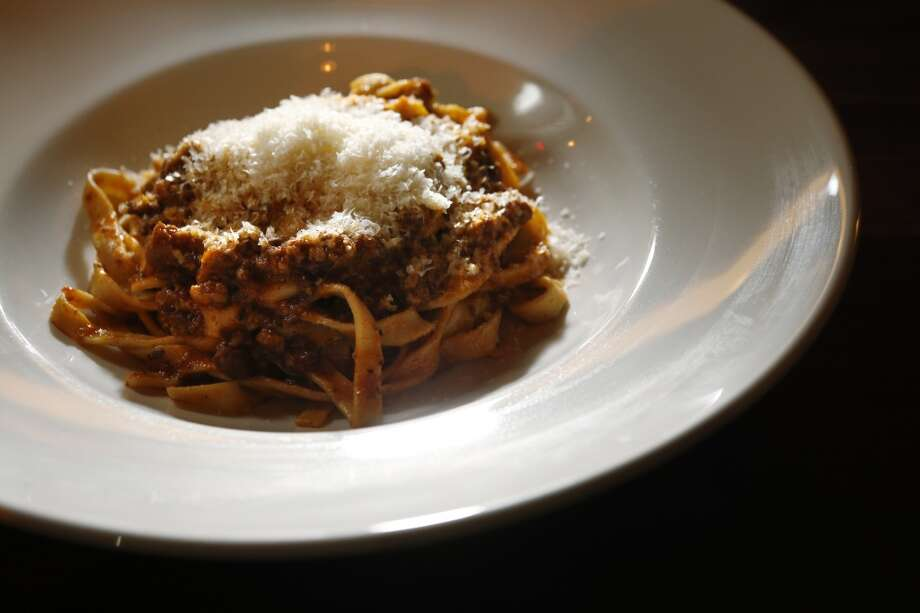 The Pork Ragu served at Trou Normand, the new restaurant from the Bar Agricole folks, in San Francisco. Photo: Carlos Avila Gonzalez, The Chronicle